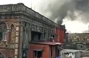 Kolkata: Fire breaks out in Amartalla Lane of Burrabazar area, no injuries reported