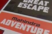 Testing the off-roading grounds at Mahindra Great Escape