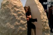 Between a Rock and an Art Place- Frenchman Emerges After Week Inside a Stone