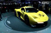 F1 Champion Fittipaldi Reveals Titular Racecar at Geneva Motor Show