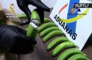 Drug Dealers Busted Transporting Cocaine Inside Fake Bananas