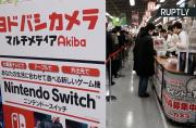 Gamers Line Up in Tokyo After Global Release of Nintendo Switch