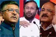 India Today Conclave 2017: 3 Ministers- Naidu, Prasad, Javadekar; 3 big ideas
