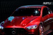 Mercedes AMG Presents Concept at Geneva Motor Show