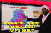 Assembly Election Results 2017: Congress wins over Punjab, while AAP makes an impressive debut