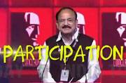 13 words from Venkaiah Naidu's diction that summed up his speech at India Today Conclave 2017