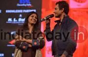 Nandita Das and Nawazuddin Siddiqui at India Today Conclave 2017