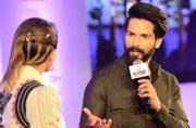 Shahid Kapoor at India Today Woman Summit