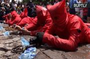 Hell to Pay! Devils Whip Faithful to Cleanse Sins in El Salvador Festival