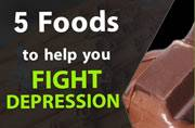 These five foods can help you fight depression.