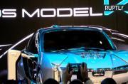 Qoros presents Model K-EV electric concept car at Auto Shanghai 2017