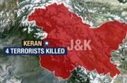 Jammu-Kashmir: 4 terrorists killed while trying to cross LoC in Kupwara's Keran sector