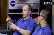 ISS Expedition 53-54 Discuss Upcoming Space Mission in Houston