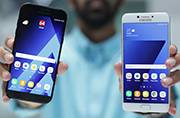 Samsung Galaxy A7 2017 vs Galaxy C7 Pro: In-house tussle
