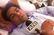 AAP crisis: Former Delhi minister Kapil Mishra attacked outside his home
