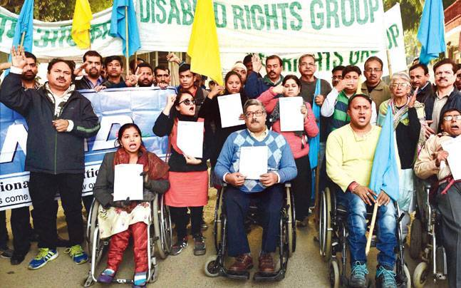 Centre allows differently abled people to stay seated during national anthem