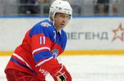 Putin plays ice-hockey in Sochi and stuns his fans
