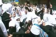 Kashmir: Students clash with security forces in Sopore