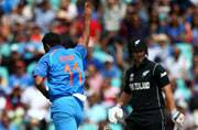Bowlers shine for India against New Zealand in ICC Champions Trophy warm-up tie