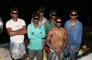 Sri Lankan Navy arrests six Indian fishermen