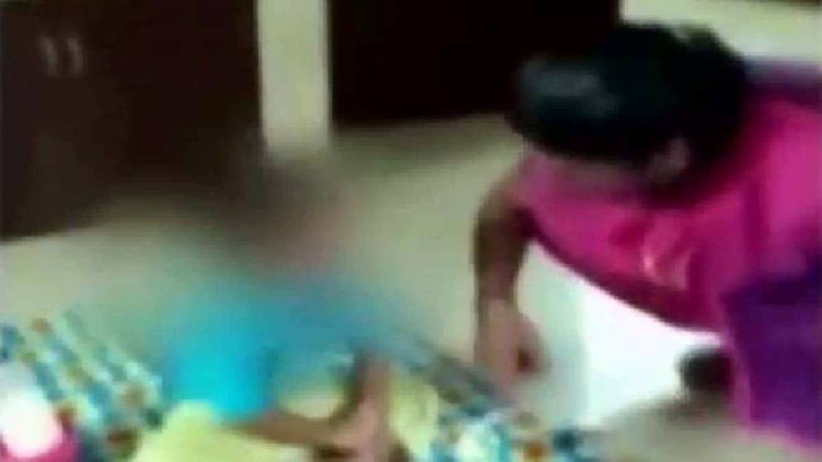 Caught on camera: Kochi playschool teacher thrashes 1 5-year-old toddler