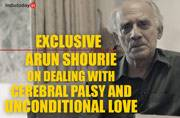 Watch: Arun Shourie talks about the power of love in dealing with suffering