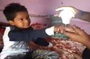 Ajmer kid lights up a bulb with his touch: Trick or miracle?