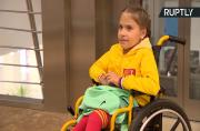 Meet the 10yo disabled girl who stole a kiss from Ronaldo