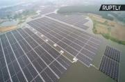 World's Largest Floating Solar Plant Now Powering Chinese Homes