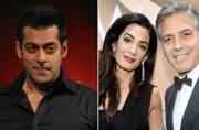 Salman Khan gets trolled for road safety advice, George and Amal Clooney have twins