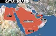 Qatar isolated.