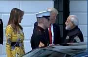 Melania Trump joins Donald Trump in welcoming PM Modi at White House