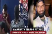 Arrested Lashkar terrorist Sandeep Kumar gives info on Amarnath attack mastermind Ismail
