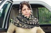 China meddling in Jammu and Kashmir, says chief minister Mehbooba Mufti