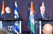 Modi, Netanyahu call for action against terror groups in joint press conference