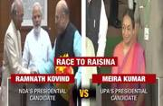 Presidential Elections 2017: Ram Nath Kovind vs Meira Kumar today