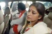West Bengal violence: BJP leader Roopa Ganguly arrives in Kolkata
