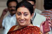 Smriti Irani gets additional charge of I&B after Venkaiah Naidu resigns as Union minister