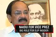 Venkaiah Naidu picked as NDA's candidate for vice president of India
