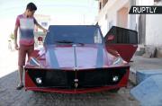 23-Year-Old Brazilian Builds Ferrari Out of Scrap Metal
