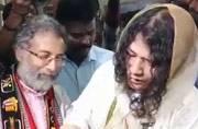 Irom Sharmila marries long-time partner Desmond Coutinho