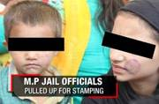 Bhopal prison stamps minors' faces when they visit their jailed father