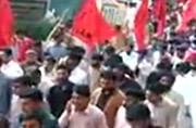 Massive protest rally demanding freedom from Pakistan held in PoK