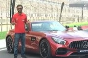 Mercedes AMG GT R and GT Roadster driven at teh Buddh International Circuit