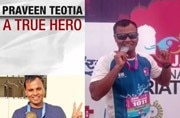 Good news of the day: Braveheart 26/11 commando who took 4 bullets completes marathon