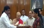 Nirmala Sitharaman takes charge as Defence Minister