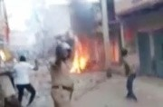 Clashes break out between groups over procession routes in Kanpur, Ballia