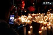 Las Vegas Holds Candlelit Vigil for Shooting Massacre Victims