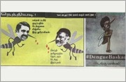 Traitors EPS, OPS drink more blood than dengue mosquitoes: DMK's mouthpiece releases cartoon