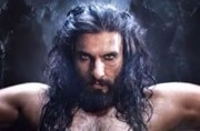 Ranveer as Alauddin Khilji